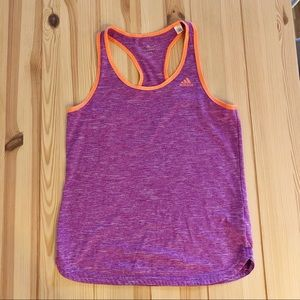 Adidas Climalite tech tank top, Women's Size Small